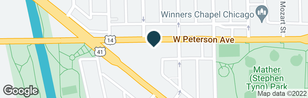 Google Map of3019 W PETERSON AVE