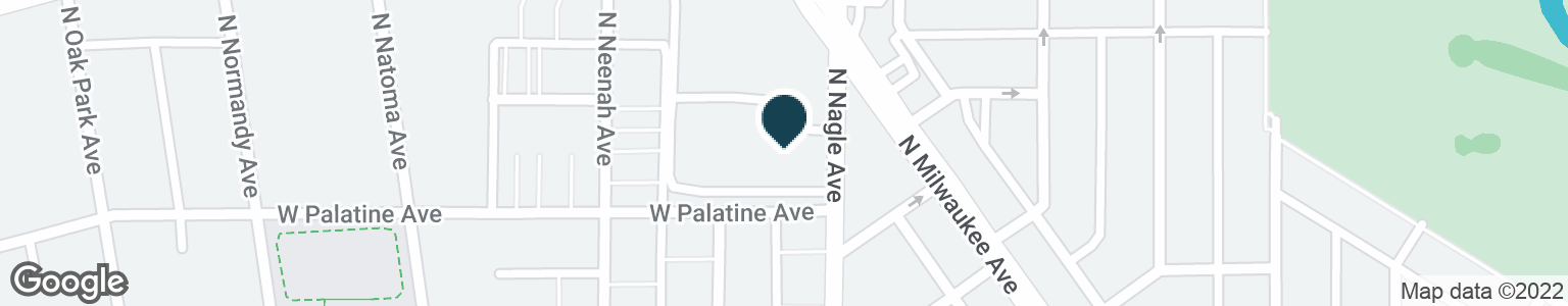 Google Map of6310 N NAGLE AVE