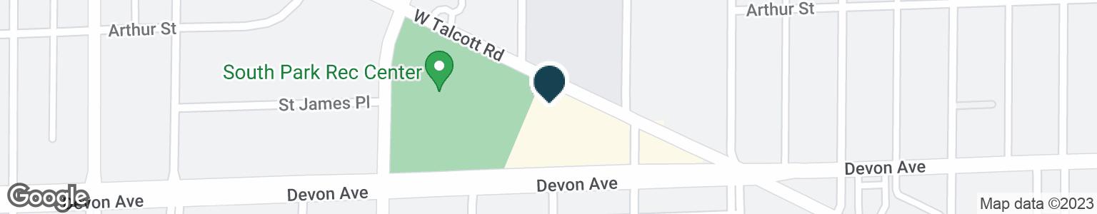 Google Map of800 DEVON AVE