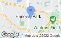 Map of Hanover Park, IL