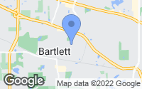 Map of Bartlett, IL