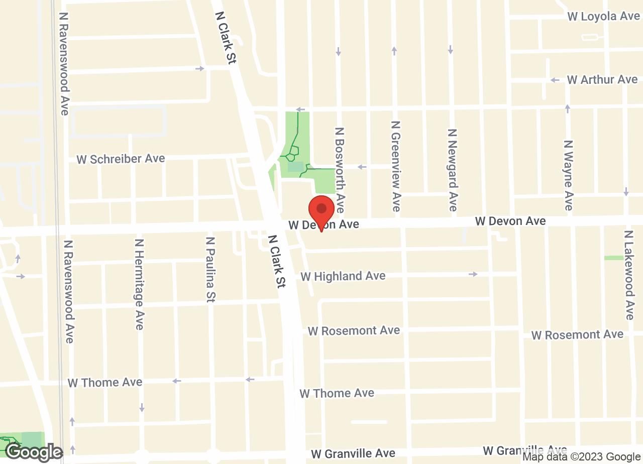 Google Map of VCA Misener-Holley Animal Hospital