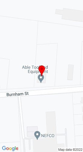 Google Map of Cam Equipment 410 Burnham Street, South Windsor, CT, 06074