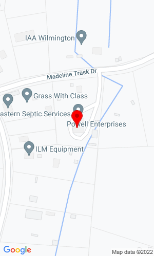 Google Map of Sound Heavy Machinery 410 Madeline Trask Drive, Castle Hayne, NC, 28429