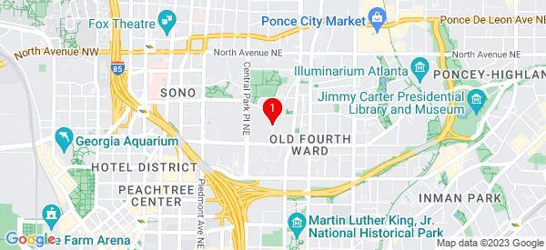 Google Map of 410 Felton Drive atlanta 30312