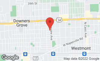 Map of 410 Otis Avenue DOWNERS GROVE, IL 60515