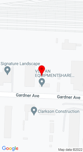 Google Map of VLP an EquipmentShare Company 4100 Gardner Avenue, Kansas City, MO, 64120