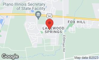 Map of 4105 Dillon Street PLANO, IL 60545