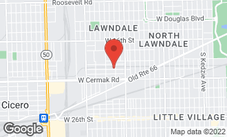 Map of 4106 West 21st Street CHICAGO, IL 60623