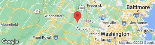 Map of 411 DAVIS DRIVE S PURCELLVILLE, VA 20132