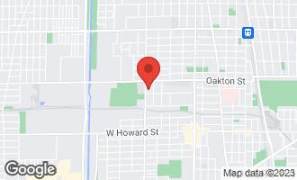 Map of 411 Dodge Avenue B EVANSTON, IL 60202