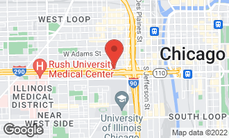 Map of 411 South Sangamon Street 2D CHICAGO, IL 60607
