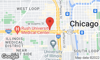 Map of 411 South Sangamon Street 8BC CHICAGO, IL 60607