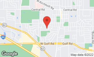Map of 411 West Noyes Street ARLINGTON HEIGHTS, IL 60005