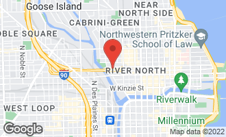 Map of 411 West Ontario Avenue #717 CHICAGO, IL 60654