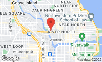 Map of 411 West Ontario Street #609 CHICAGO, IL 60654
