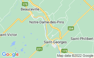 Map of Camping Domaine De La Rivière