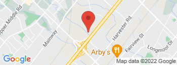 Google Map of 4111+North+Service+Road%2CBurlington%2COntario+L7L+4X6