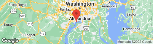 Map of 4112 FERRY LANDING ROAD ALEXANDRIA, VA 22309