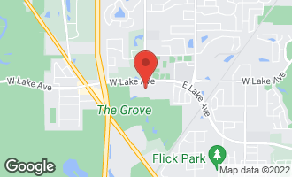 Map of 4115 West Lake Avenue GLENVIEW, IL 60025