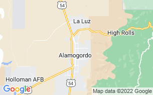 Map of Alamogordo/White Sands KOA
