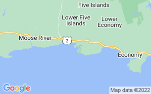 Map of Sand Point Beach Campground