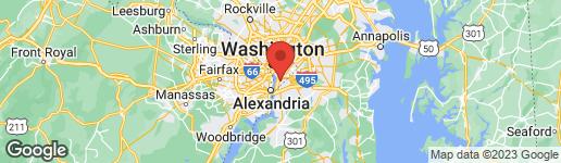 Map of 412 WOODCREST DRIVE SE B WASHINGTON, DC 20032