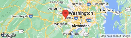 Map of 4120 MONUMENT COURT #302 FAIRFAX, VA 22033