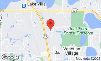 Map of 413 Fairfax Drive LAKE VILLA, IL 60046
