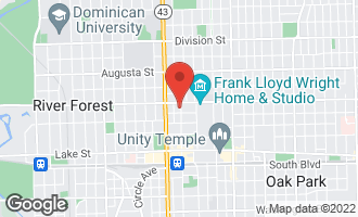 Map of 413 North Marion Street OAK PARK, IL 60302