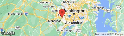 Map of 4130 TROWBRIDGE STREET FAIRFAX, VA 22030