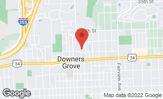 Map of 4133 Lindley Street DOWNERS GROVE, IL 60515
