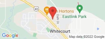 Google Map of 4144+Kepler+Street%2CWhitecourt%2CAlberta+T7S+1N5