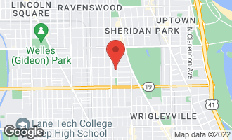 Map of 4144 North Greenview Avenue CHICAGO, IL 60613