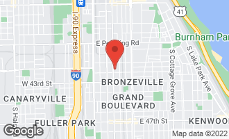 Map of 4145 South Indiana Avenue CHICAGO, IL 60653