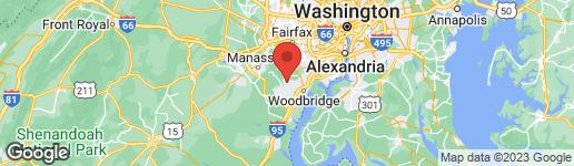 Map of 4147 BANCROFT LANE WOODBRIDGE, VA 22192