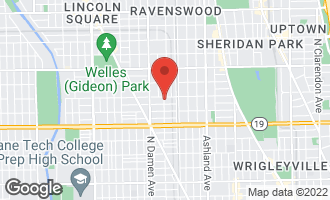 Map of 4149 North Wolcott Avenue CHICAGO, IL 60613