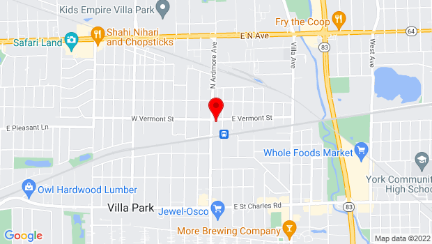 Google Map of 415 North Ardmore, Villa Park, IL 60181
