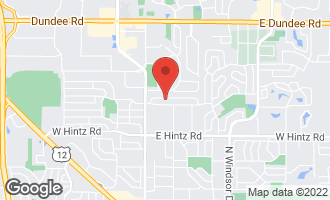 Map of 415 East Hackberry Drive ARLINGTON HEIGHTS, IL 60004