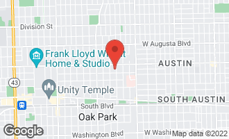 Map of 415 North Lombard Avenue OAK PARK, IL 60302
