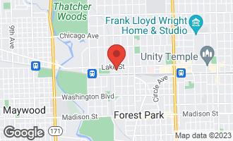 Map of 415 Park Avenue C RIVER FOREST, IL 60305