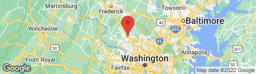 Map of 416 BLUE FLAX PLACE GAITHERSBURG, MD 20878
