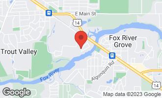 Map of 416 Marquette Avenue CARY, IL 60013