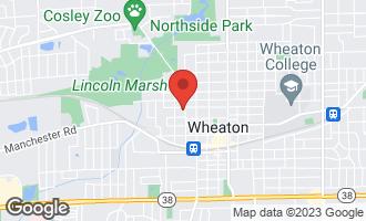 Map of 418 North Gary Avenue WHEATON, IL 60187