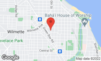 Map of 419 10th Street WILMETTE, IL 60091