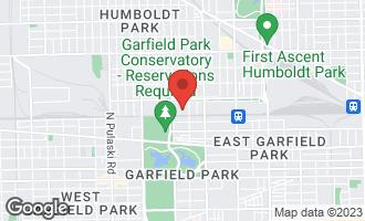 Map of 419 North Drake Avenue CHICAGO, IL 60624