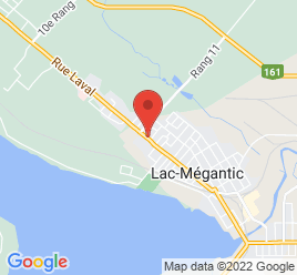 Google Map of 4196+Rue+Laval%2CLac-Megantic%2CQuebec+G6B+1B4