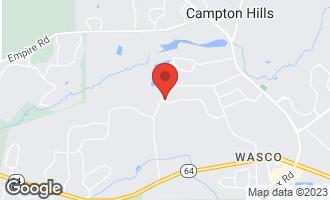 Map of 41W310 Campton Trail Road ST. CHARLES, IL 60175