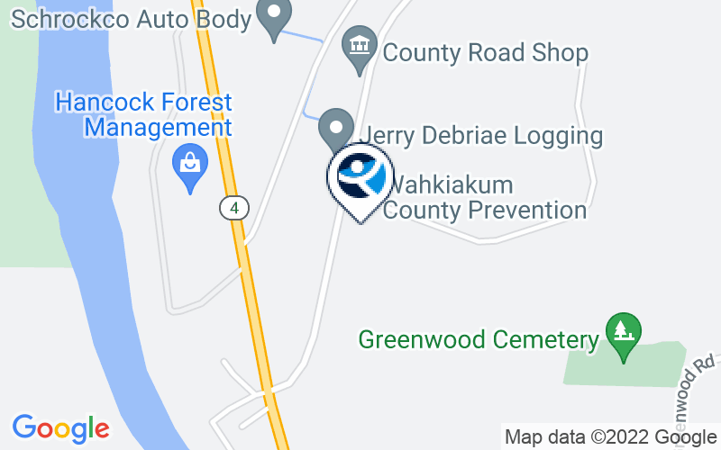 Wahkiakum Chemical Dependency Location and Directions