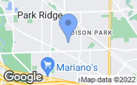 Map of Park Ridge, IL